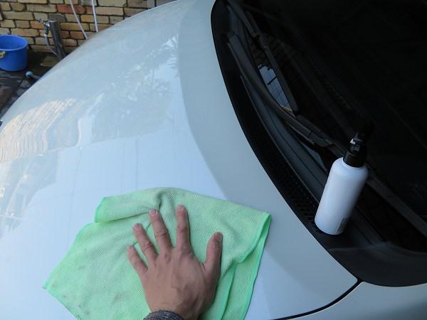 車 アンサー ガラスコーティング ポリマー コーティング剤 DIY 18