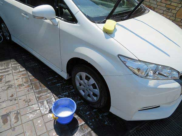 車 アンサー ガラスコーティング ポリマー コーティング剤 DIY 12